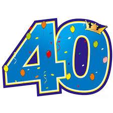 40 jarig bestaan 40 jarig bestaan! 40 jarig bestaan